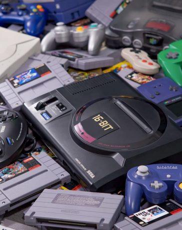 consoles anciennes générations